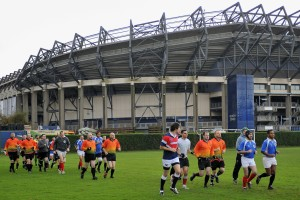 Thebans Rugby Clinic 2011, Edinburgh