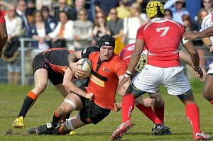 Netherlands A Team v British Army Rugby