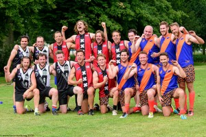 AFL Dutch League, Round 1